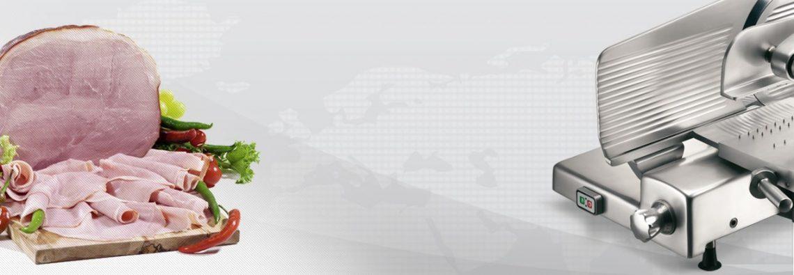 Полуавтоматический слайсер для ветчины Omega VS 370