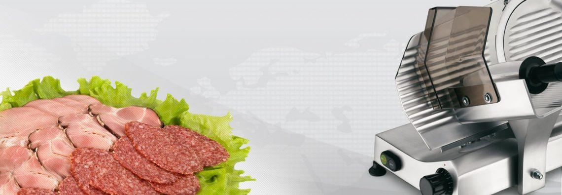 Полуавтоматический слайсер для колбасы Omega 250